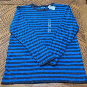3/20$ Boys Blue Striped Long Sleeved Top
